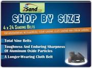 Best Deal On 4 x 24 Sanding Belts