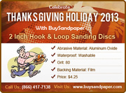 Celebrate Thanksgiving Day 2013 With BuySandpaper