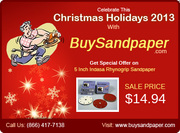Celebrate Christmas Holidays with Buysandpaper.com