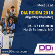 DDi at DIA RSIDM 2018 (Reg Information)