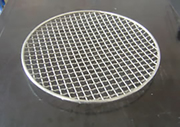 Pre-Crimped Wire Mesh as Barbecue Grill Netting