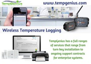 Get smart wireless temperature logging devices