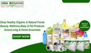 Organic food for family,  baby,  pets at wholesaler discount door-door a