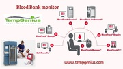 Get Efficient Professional Blood Bank Monitoring System from TempGeniu